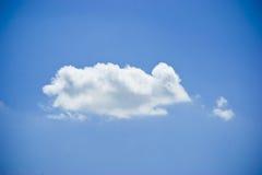 Nuvem que olha como um rato Fotos de Stock