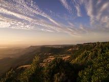 Nuvem running sobre Alghero Imagens de Stock Royalty Free