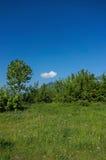 Nuvem sobre a montanha Fotografia de Stock Royalty Free