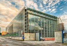 A nuvem, um centro de congresso novo na Roma, Itália Fotos de Stock