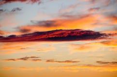 Nuvem vermelha Fotografia de Stock Royalty Free
