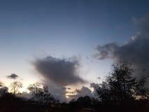 Nuvens imagem de stock
