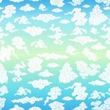 Nuvens ilustração royalty free
