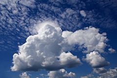 Nuvens Fotos de Stock Royalty Free