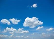 Nuvens foto de stock