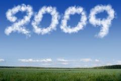 Nuvens 2009 Fotos de Stock