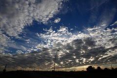 Nuvens 022 Fotografia de Stock Royalty Free