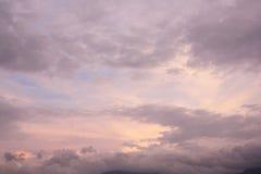 Nuvens 8 Fotografia de Stock