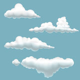 Nuvens ilustração stock