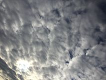 Nuvens 035 Imagem de Stock