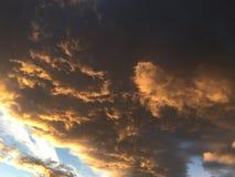 Nuvens 022 Imagem de Stock Royalty Free