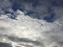 Nuvens 018 Imagem de Stock