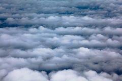 Nuvens aéreas Imagens de Stock Royalty Free