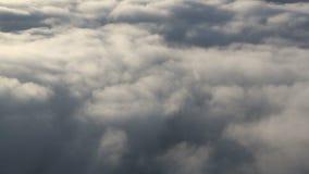 Nuvens aéreas video estoque