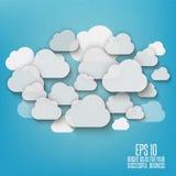 Nuvens abstratas Fotografia de Stock Royalty Free