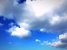 Nuvens acima Foto de Stock Royalty Free