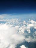 Nuvens acima do horizonte Foto de Stock