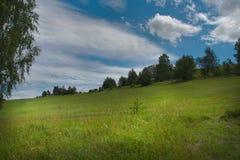 Nuvens agradáveis Imagem de Stock Royalty Free