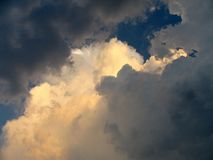 Nuvens antes da tempestade Imagem de Stock Royalty Free