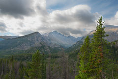 Nuvens antes das inundações 4 Fotografia de Stock Royalty Free