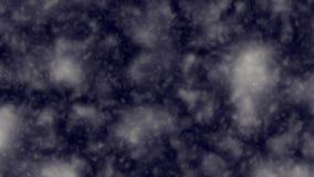 Nuvens atmosféricas que movem-se através da tela ilustração do vetor