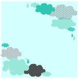 Nuvens azuis Fotos de Stock