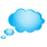 Nuvens azuis Ilustração do Vetor
