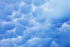 Nuvens azuis imagem de stock