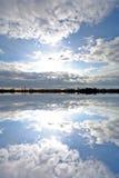 Nuvens bonitas Imagens de Stock Royalty Free
