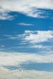 Nuvens bonitas Imagem de Stock