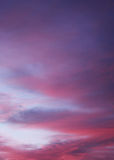 Nuvens bonitas Fotos de Stock
