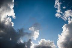 Nuvens bonitas em L?bano 2019 imagens de stock royalty free