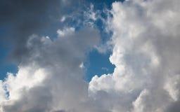 Nuvens bonitas em L?bano 2019 imagens de stock