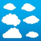 Nuvens bonitos Imagem de Stock