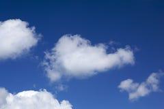 Nuvens brancas imagens de stock royalty free
