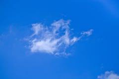 Nuvens brancas Fotografia de Stock