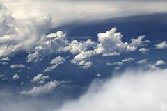 Nuvens brancas fotos de stock royalty free