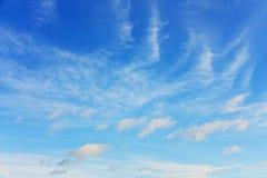 Nuvens brancas fotografia de stock royalty free