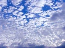 Nuvens brancas Imagem de Stock