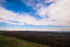 Nuvens brancas e céu azul Imagem de Stock Royalty Free