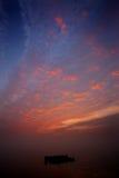 Nuvens brilhantes Imagem de Stock