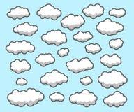 Nuvens, céu Imagens de Stock Royalty Free