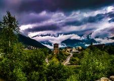 Nuvens cativando Fotografia de Stock Royalty Free