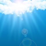 Nuvens celestiais Fotografia de Stock Royalty Free