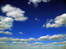 Nuvens cinzentas Foto de Stock Royalty Free