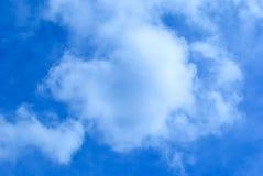 nuvens Coração-dadas forma Fotografia de Stock Royalty Free
