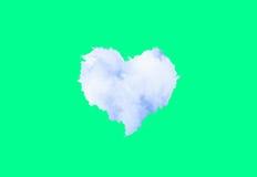 nuvens Coração-dadas forma Foto de Stock