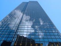 Nuvens da baixa de Boston fotos de stock royalty free