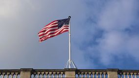 Nuvens da bandeira dos EUA vídeos de arquivo