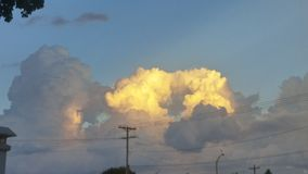 nuvens da beleza Fotografia de Stock Royalty Free